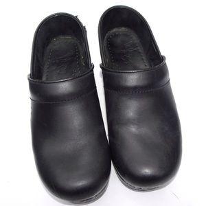 Dansko Black Clogs Size 36